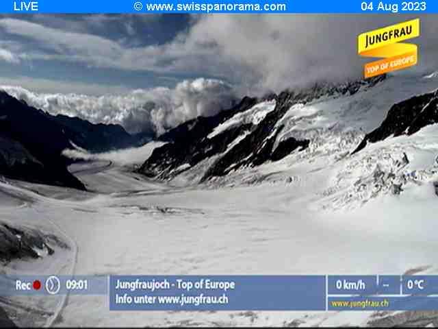 Webcam Jungfraujoch-Top Of Europe