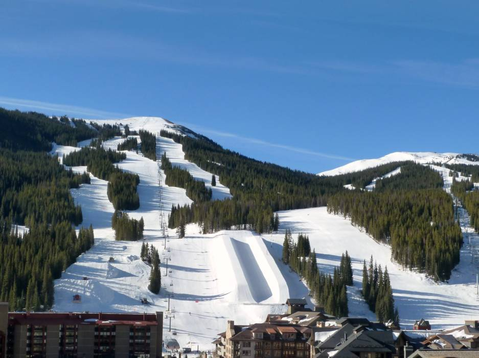 The ski resort Copper Mountain is located