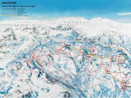 Crosscountry skiing Lillehammer trails Lillehammer