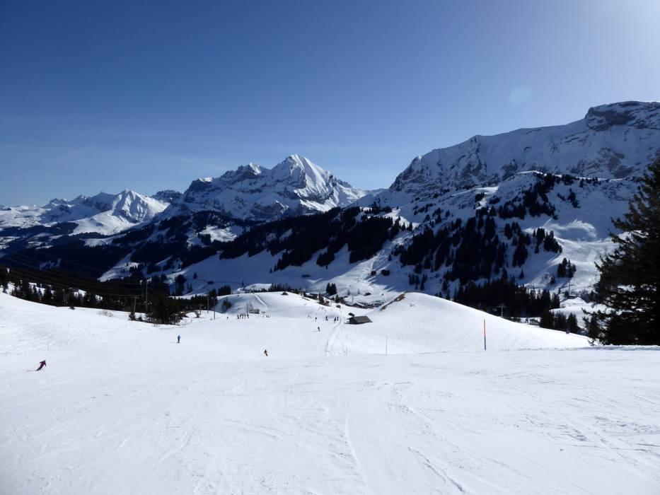 Ski resort AdelbodenLenk ChuenisbrgliSillerenHahnenmoosMetsch
