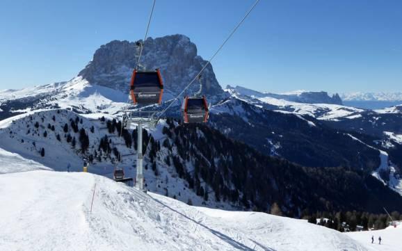 Ski resorts Dolomiti Superski skiing in Dolomiti Superski