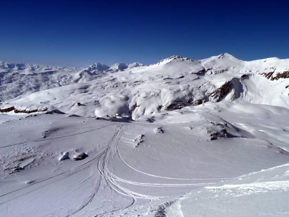 Ski resort LaaxFlimsFalera Skiing LaaxFlimsFalera