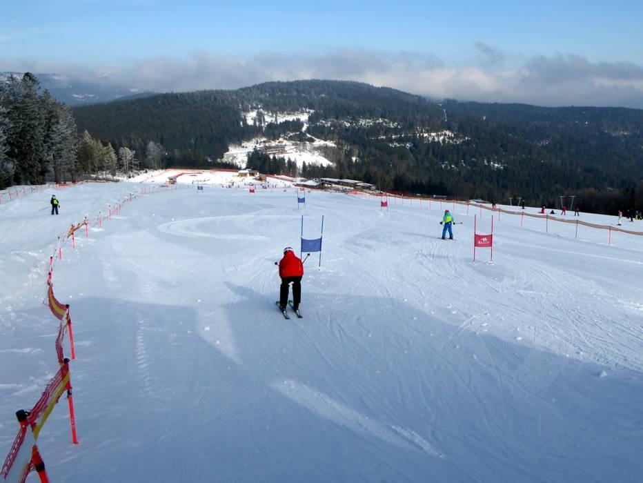 Slopes Arber Runs Ski Slopes Arber