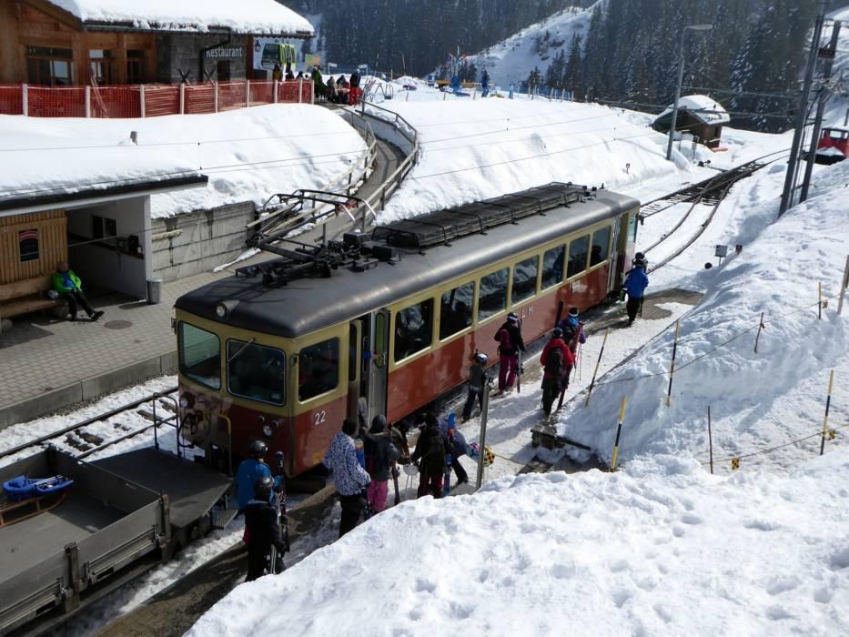 Ski Lifts Schilthorn M 252 Rren Lauterbrunnen Cable Cars