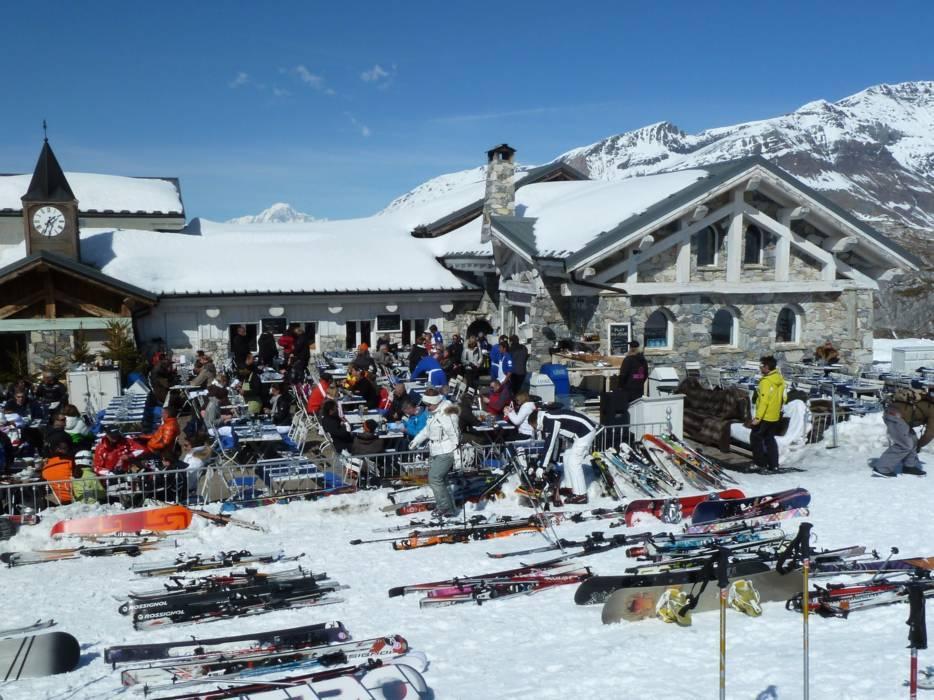 Mountain restaurants huts TignesVal dIsre Gastronomy Tignes
