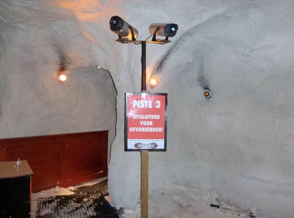 The Indoor ski area SnowWorld Zoetermeer