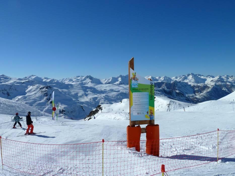 Snowpark Les 3 Valles Val ThorensLes MenuiresMribelCourchevel