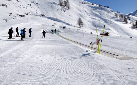 Ski resorts for beginners in ZermattMatterhorn beginner ski