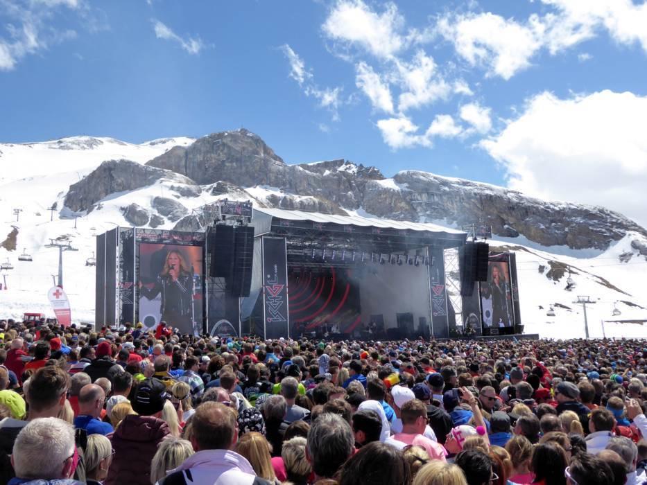 The Ski resort IschglSamnaun u2013 Silvretta