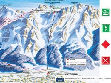 Ski resort Dammkar – Mittenwald - Skiing Dammkar – Mittenwald