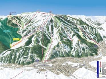 ski areas in idaho map Ski Resorts Idaho Skiing In Idaho