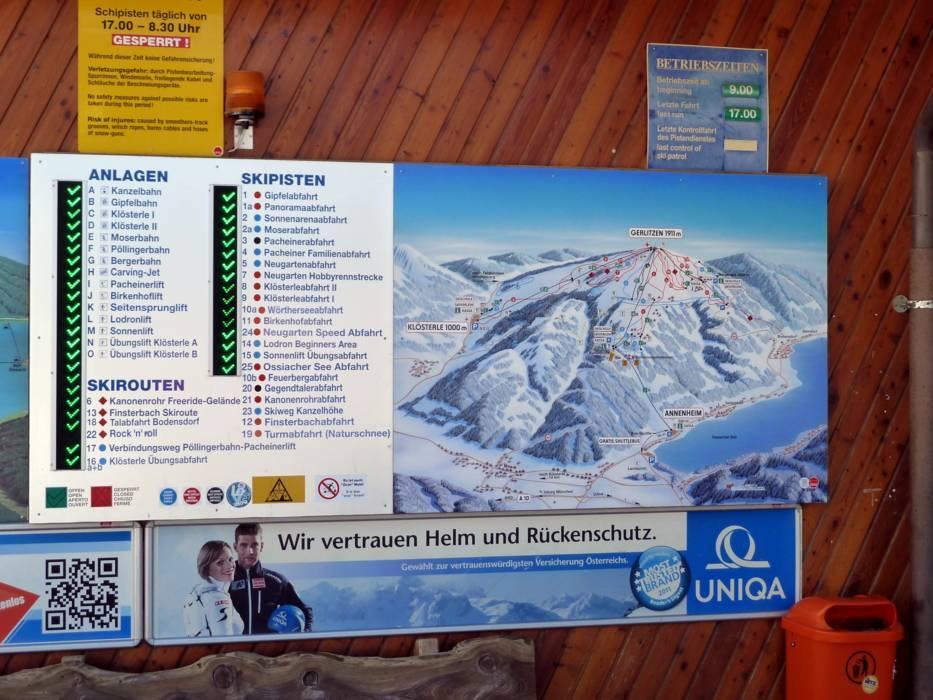 Ski resort Gerlitzen Skiing Gerlitzen