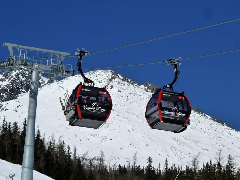 Lyžiarske stredisko Ski resort Tatranská Lomnica