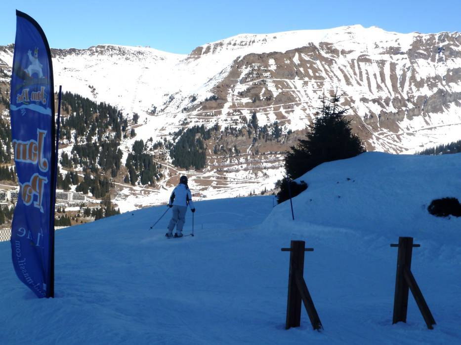 Ski resort Le Grand Massif FlaineLes CarrozMorillonSamonsSixt