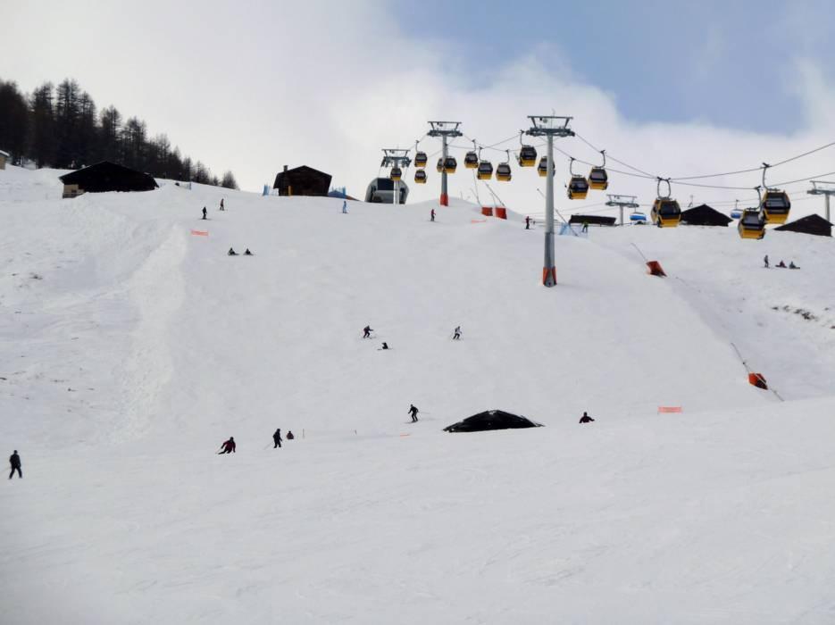 Slopes Livigno Runsski slopes Livigno