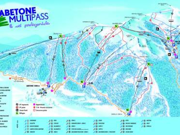 Ski Resort Abetone Val Di Luce Skiing Abetone Val Di Luce