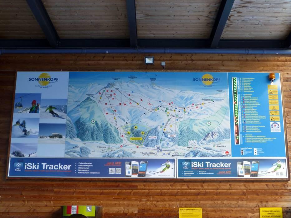 Ski resort Sonnenkopf u2013 Klsterle