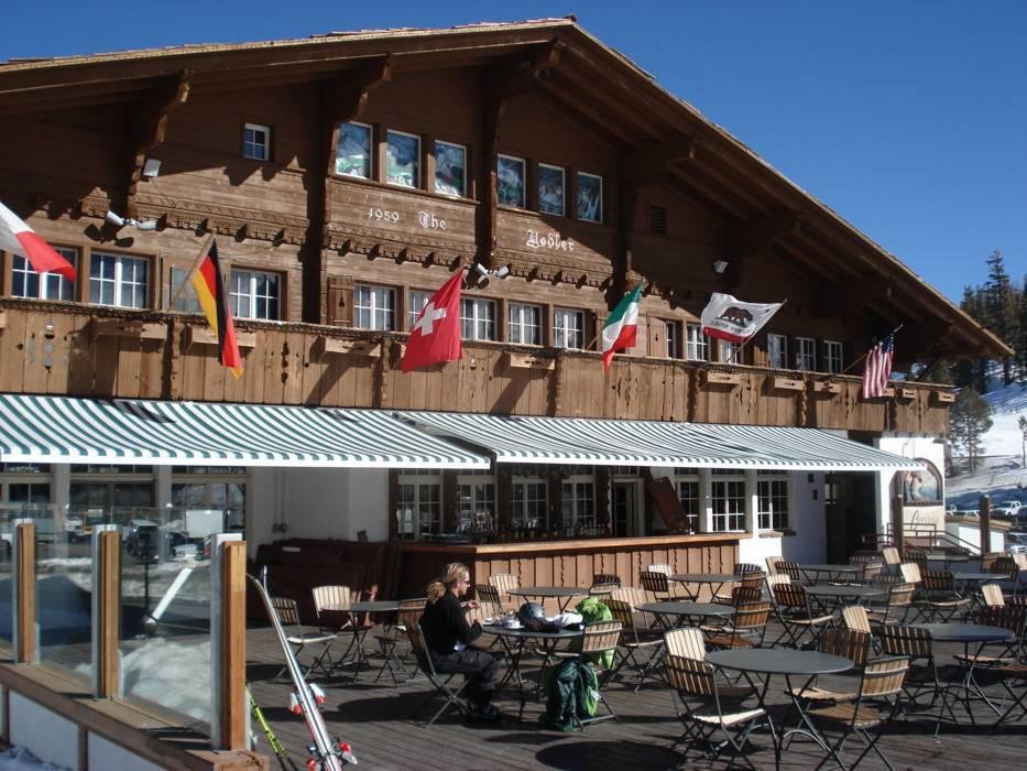 Mountain Restaurants Huts Mammoth Mountain Gastronomy Mammoth