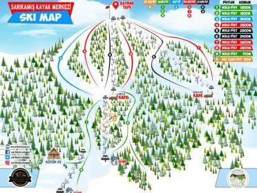 Ski Resorts Pontic Mountains Skiing In The Pontic Mountains