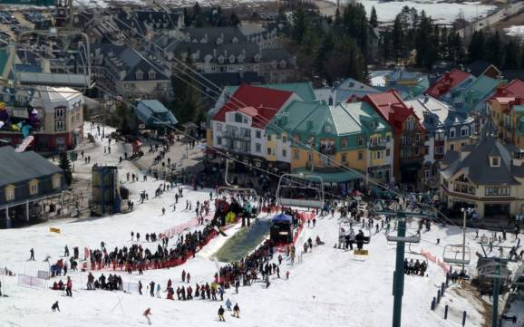 Laurentides: best ski resorts - Laurentides: top ski resorts on