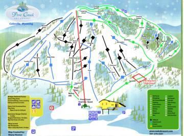 wyoming ski resorts map Ski Resort Near Cokeville Skiing Near Cokeville wyoming ski resorts map