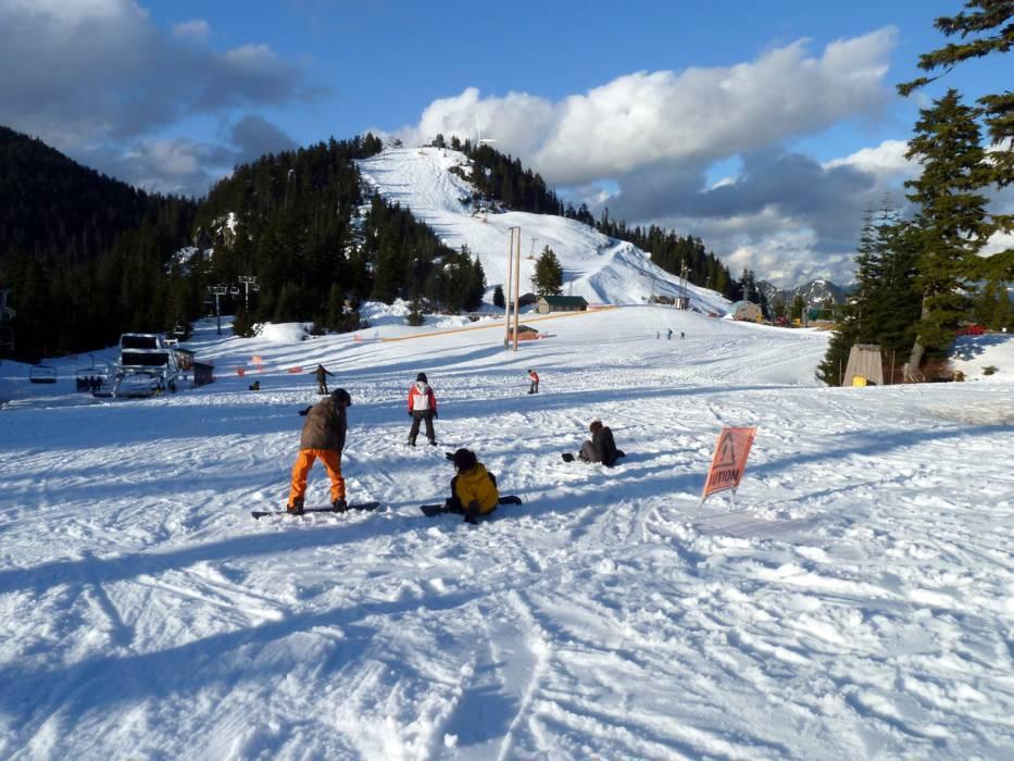 Ski Resort Grouse Mountain