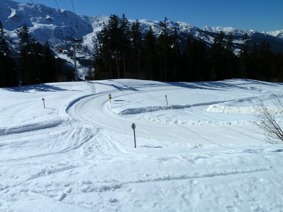 Crosscountry skiing Les 3 Valles Val ThorensLes Menuires