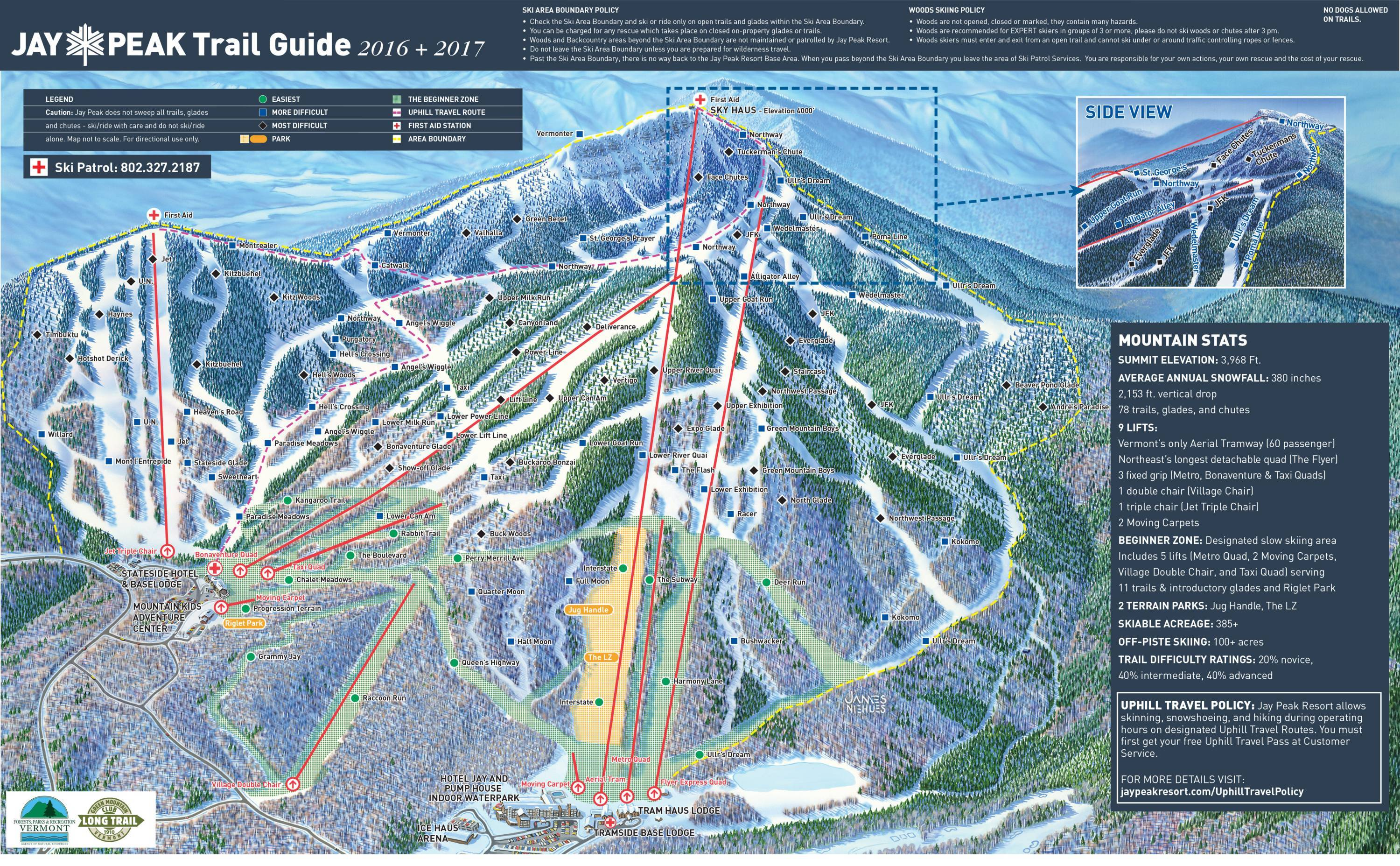 943e871c22jpg Trail map Jay Peak