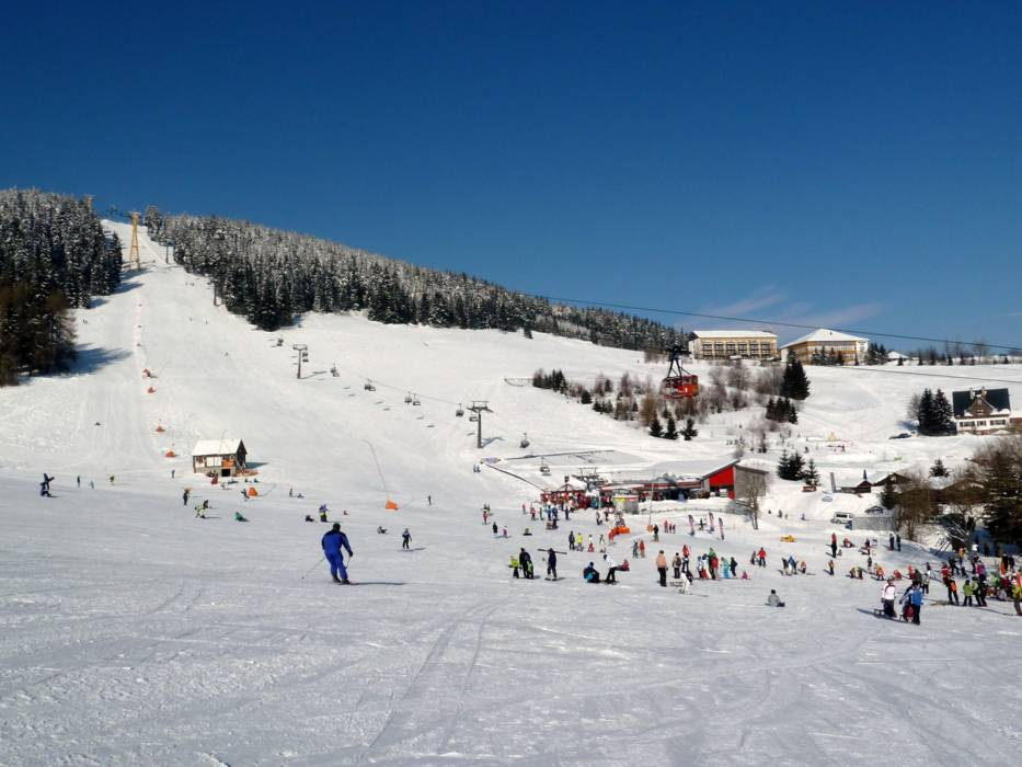 Ski resort Fichtelberg – Oberwiesenthal - Skiing ...