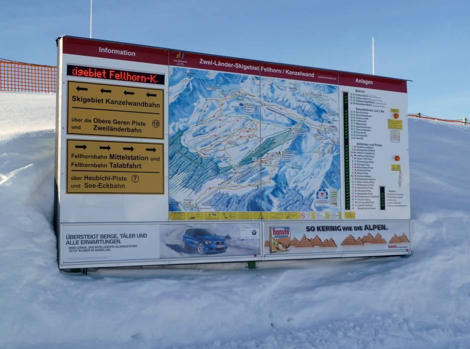 Ski resort FellhornKanzelwand u2013 OberstdorfRiezlern Skiing