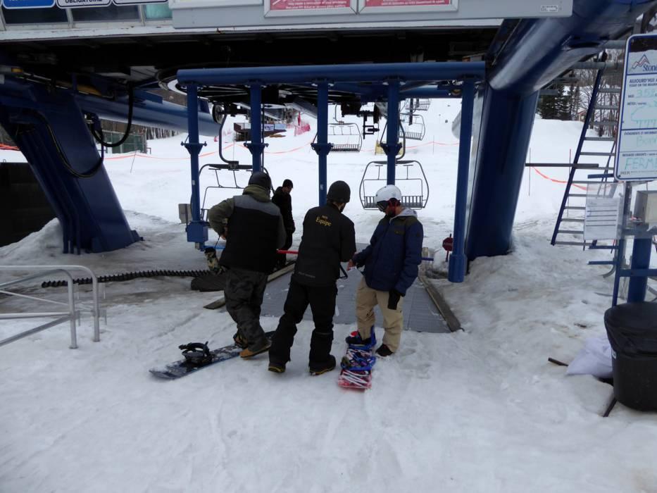 The ski resort Stoneham Mountain Resort is
