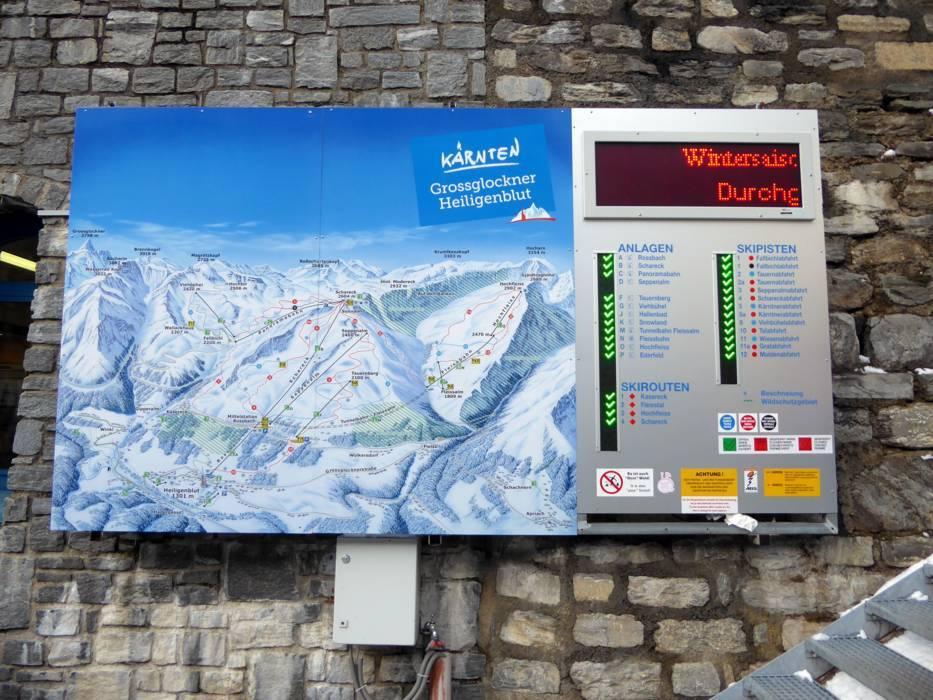 Ski resort Grossglockner Heiligenblut Skiing Grossglockner