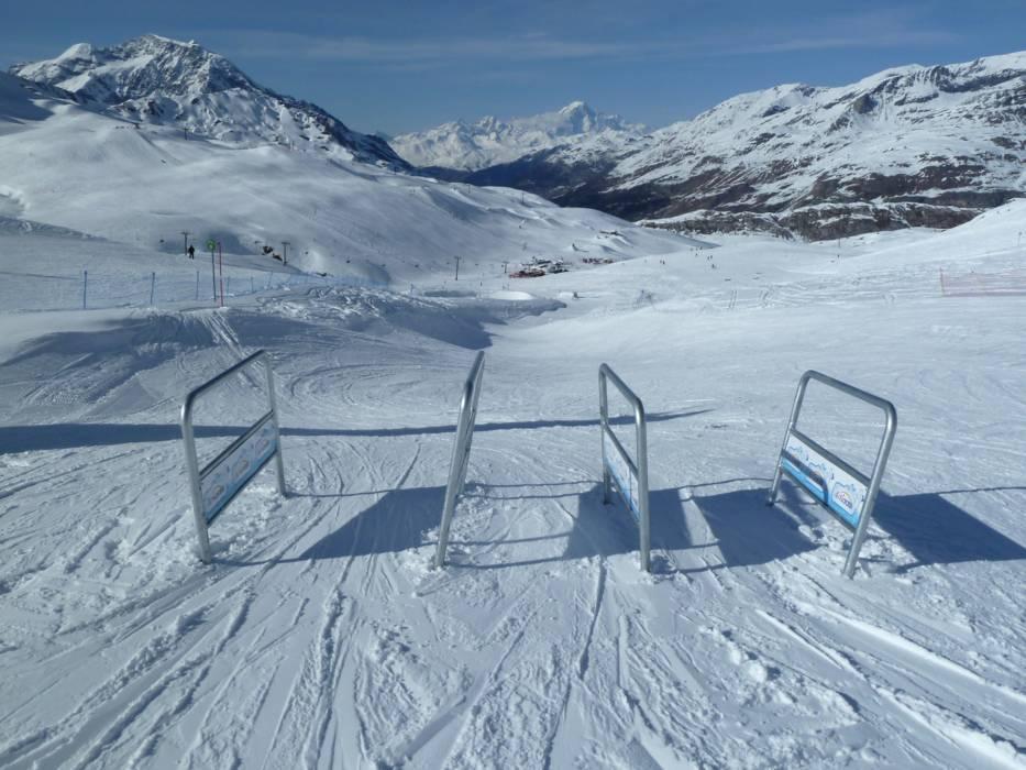 Ski resort TignesVal dIsre Skiing TignesVal dIsre