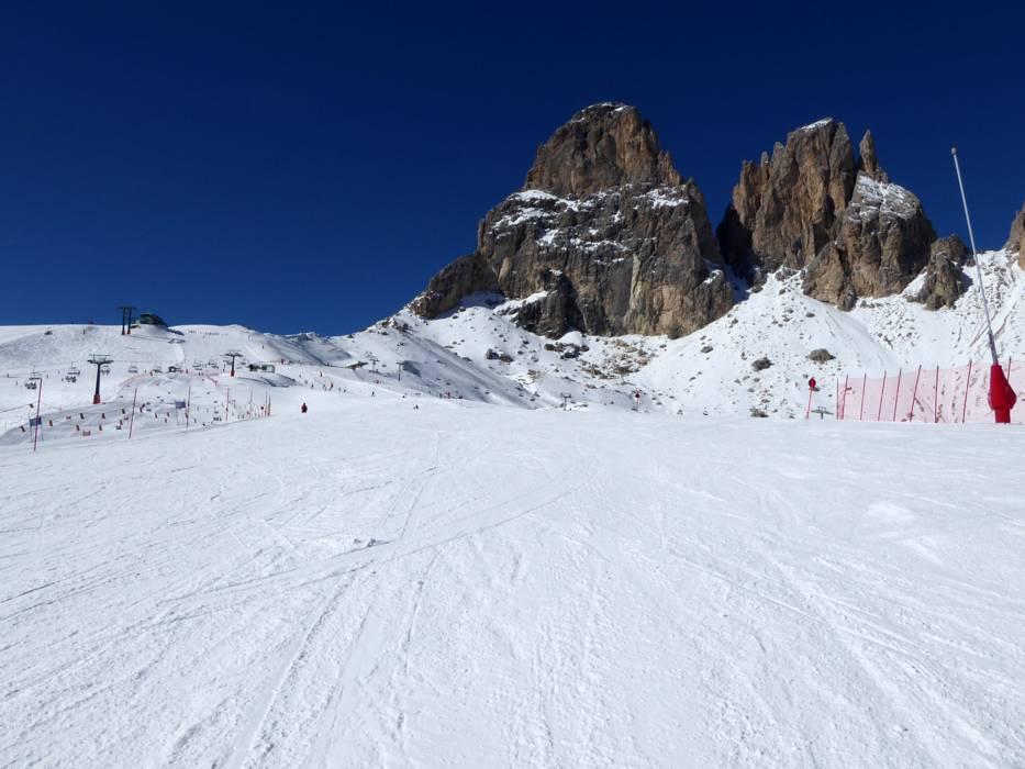 Slopes Val Gardena Grden Runsski slopes Val Gardena Grden
