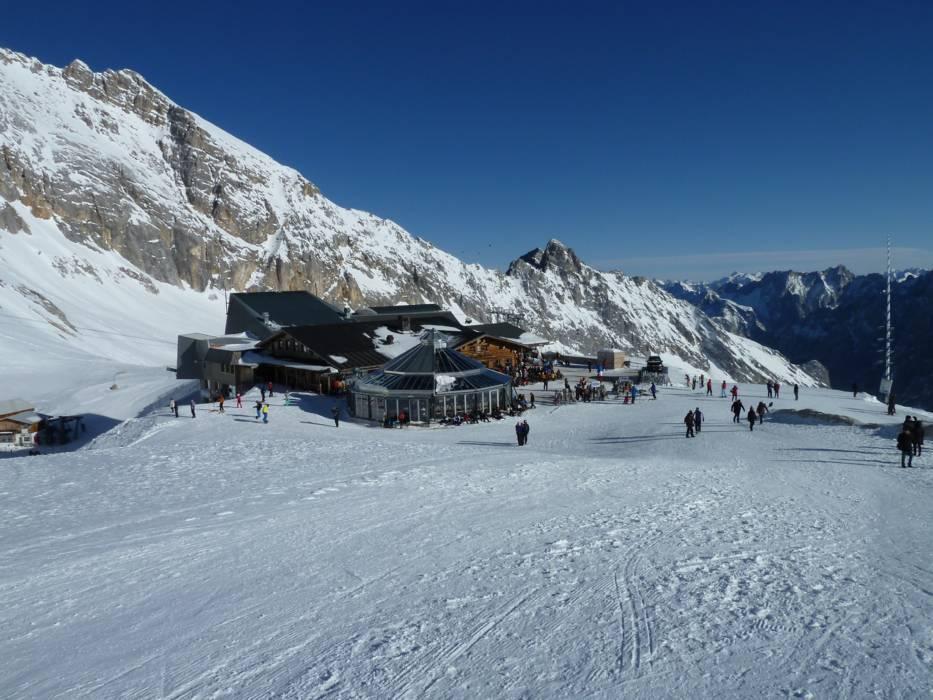 Skigebiet zugspitze