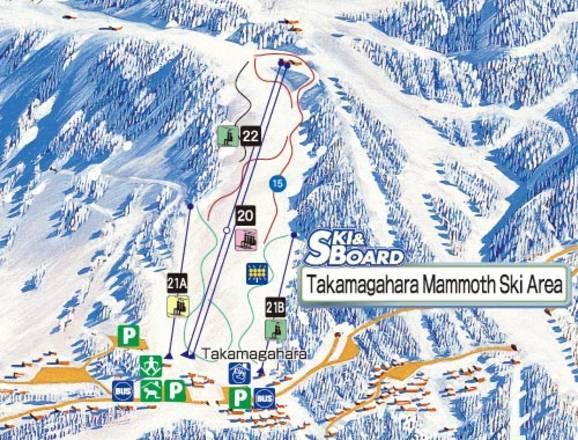 Trail Map Takamagahara Mammoth - Mammoth mountain trail map