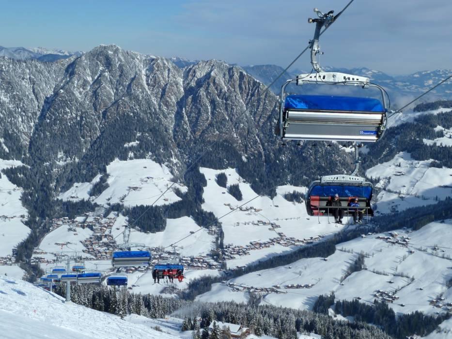 Ski Resort Jewel Alpbachtal Wildsch�nau Skiing: Alpbach Austria Map At Slyspyder.com