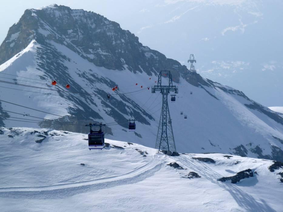 Ski lifts CransMontana cable cars CransMontana lifts CransMontana