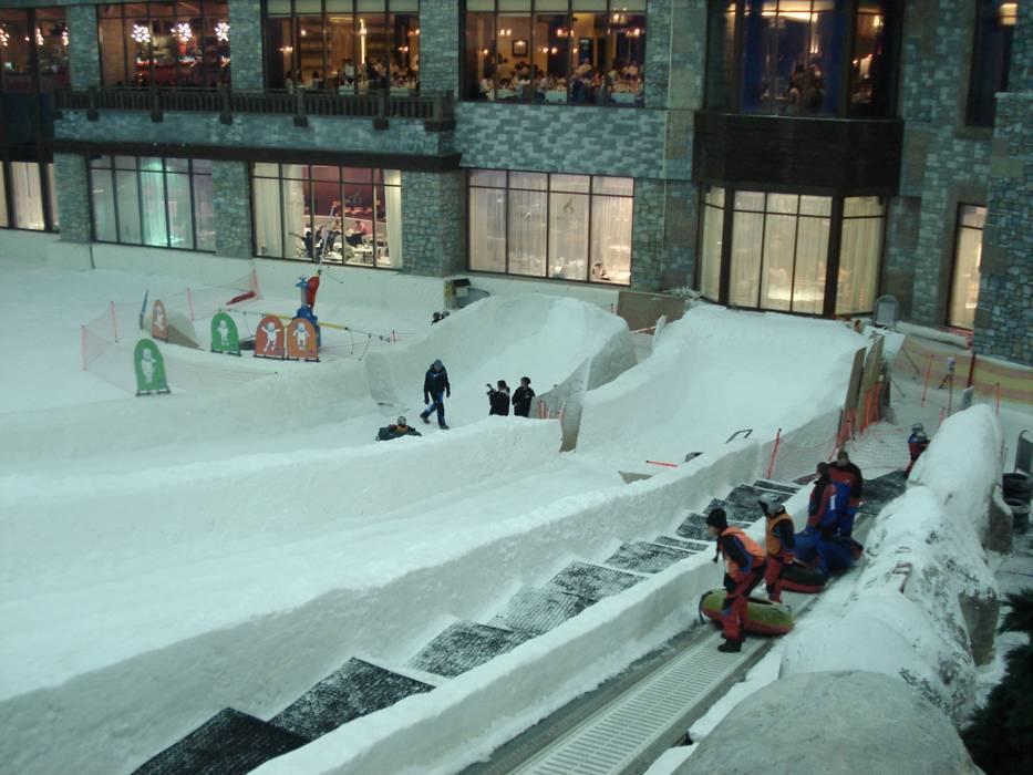 Indoor Ski Area Ski Dubai Mall Of The Emirates Skiing