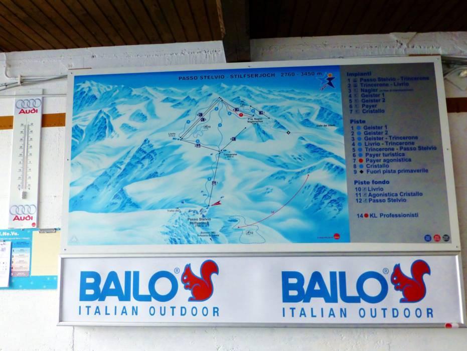 Ski resort Passo dello Stelvio Stelvio Pass