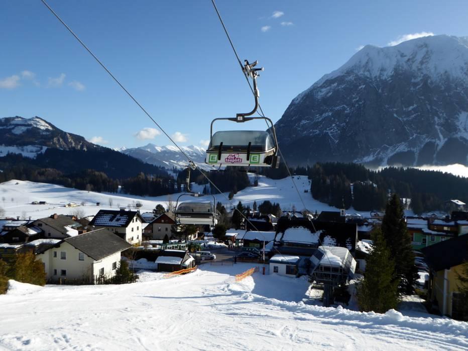 Beste Aussichten für Ihren Skiurlaub.