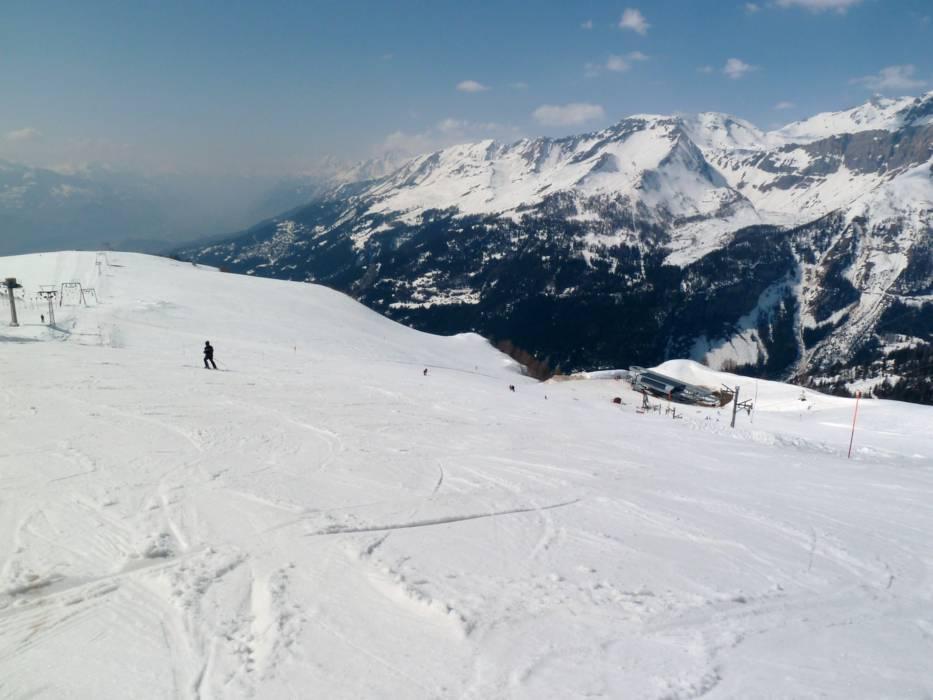 Ski resort CransMontana Skiing CransMontana