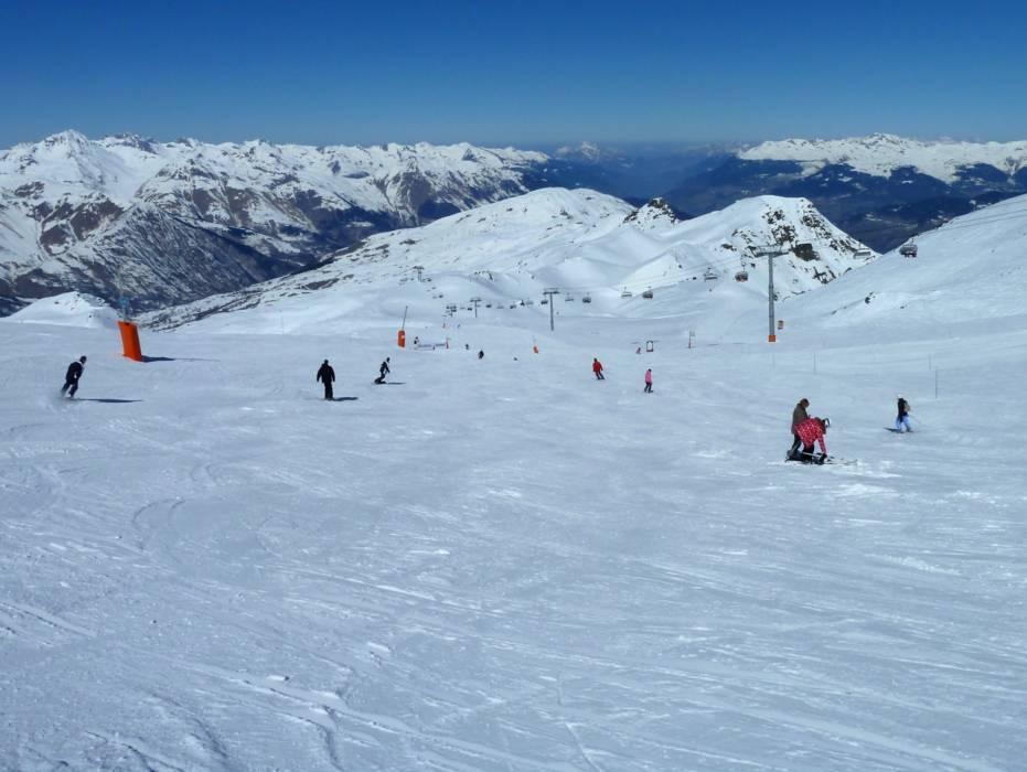 Slopes Les 3 Valles Val ThorensLes MenuiresMribelCourchevel