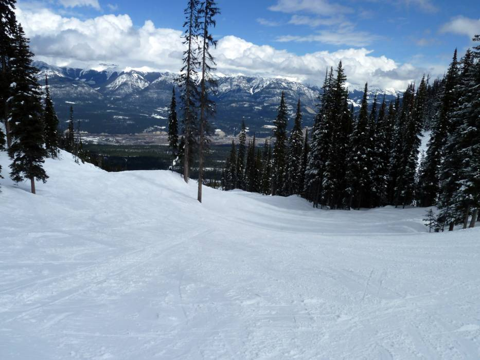ski resort kicking horse  u2013 golden