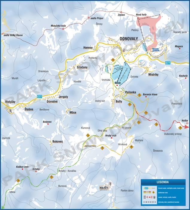 Ski resort Donovaly Park Snow Skiing Donovaly Park Snow