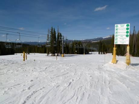 Stations de ski pour débutants dans le Colorado - Beginners Winter Park Resort