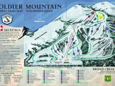 ski areas in idaho map Idaho Biggest Ski Resorts Biggest Ski Resort In Idaho