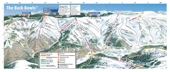 Trail Map Vail