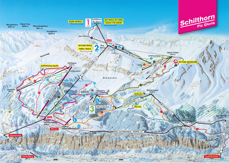Trail map Schilthorn – Mürren/Lauterbrunnen on eiger map, schaffhausen map, hook of holland map, montreux map, verbier map, grosse scheidegg map, st. moritz map,