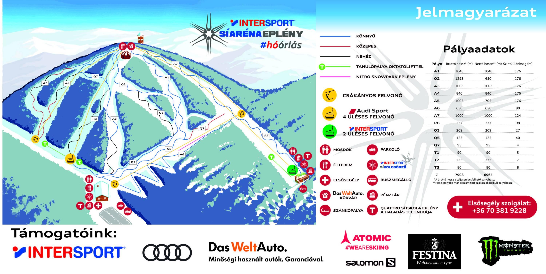Trail Map Siarena Epleny